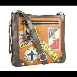 Brighton Tom Clancy Retired Crossbody